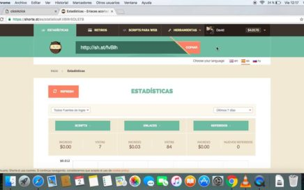 Como ganar dinero con Shorte y conseguir muchos clicks en tus enlaces (Nuevo método Noviembre 2016)