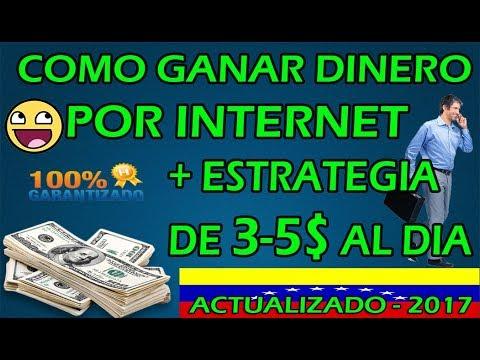 como ganar dinero por internet en venezuela 100% confiable / Kolotibablo 2017