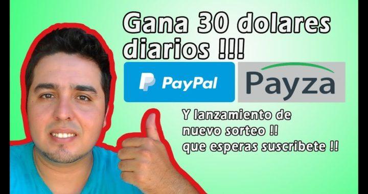 Como Ganar Dinero Por Internet Gratis 30 dolares Diarios