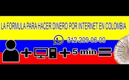Como Ganar Dinero Real Por Internet En Colombia?