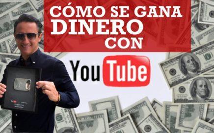 Cómo se gana dinero con YouTube