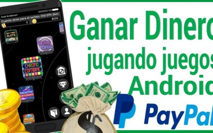 GANAR DINERO JUGANDO JUEGOS CON TU CELULAR Android / $500 DOLARES / 2017 - Big Time - Gana dinero