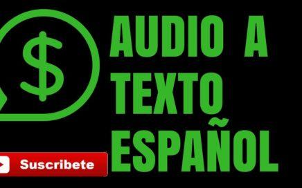 Ganar Dinero Por Escribir Audio a Texto | En Español