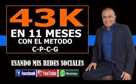 $43K en 11 meses con el método CPCG de HaciaArriba y mis redes sociales