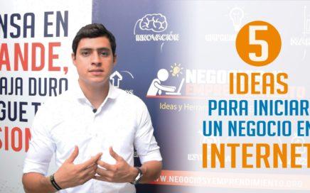 5 Ideas de Negocios para ganar dinero en Internet