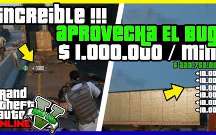 """APROVECHA EL BUG !! APURATE INCREIBLE SER MILLONARIO RAPIDO EN """"GTA V ONLINE"""" 1.41"""