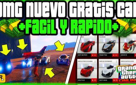 """APROVECHA!! *GRATIS* CAR FREE """"NUEVO"""" DINERO GLITCH FACIL Y RAPIDO GTA 5 ONLINE"""