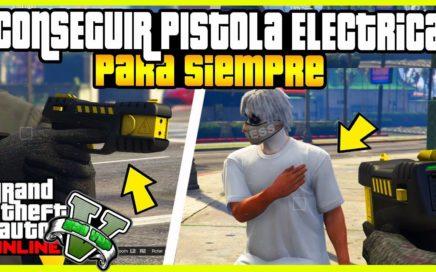 "APURATE!! CONSEGUIR PISTOLA ELECTRICA EN ""GTA V ONLINE"" THE STUN GUN"