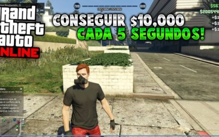 Asi CONSIGUES $10,000 Mil Dolares Cada 5 SEGUNDOS - Conseguir DINERO INFINITO en GTA 5 ONLINE!