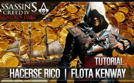 Assassin's Creed 4 Black Flag | Tutorial |  Cómo Ganar Dinero FÁCIL | Hacerse Rico | Flota Kenway