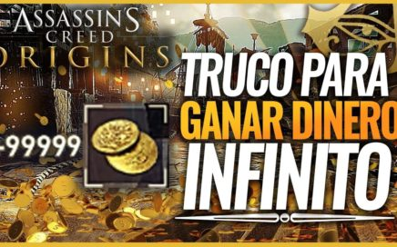 Assassin's Creed Origins | TRUCO para FARMEAR y GANAR DINERO INFINITO