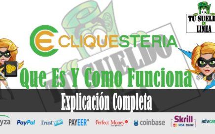 Cliquesteria | Como Ganar Dinero Para Paypal y Payza | Cliquesteria Que Es Y Como Funciona