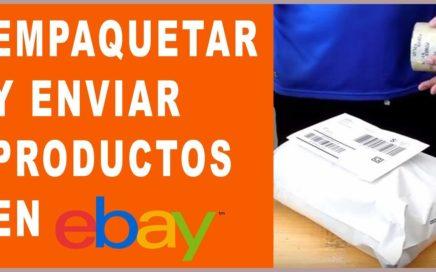 Como Empaquetar y Enviar Productos en ebay | Que Cosas Vender En Internet