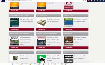 ¿Como gana dinero Online? con Scarlet-clicks!!