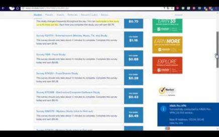 ¿Como gana dinero Online?Encuestas de 5 a 15$ al día! Ultima parte