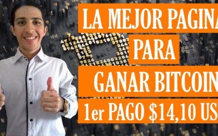 Como Ganar Bitcoin 1er PAGO [$14,10 USD 132336 BTC] Pagina PAGANDO desde el 2013.