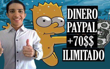 Como Ganar Dinero a Paypal de Forma ILIMITADA [+70$ USD Prueba de Pago]  Para todo el Mundo