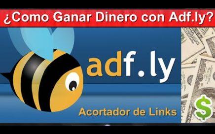 Como Ganar Dinero Acortando Tus Link Adf.ly Cobrar Con Paypal, Payoneer o Payzal