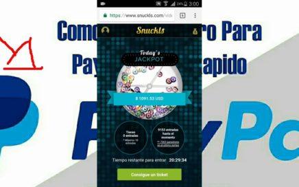 Cómo ganar dinero con baymack para PayPal $1 gratis mirando videos 2017