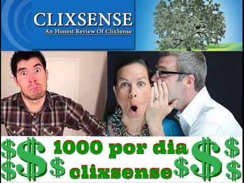 COMO GANAR DINERO CON CLIXSENSE ( NUEVA ESTRATEGIA) 2016