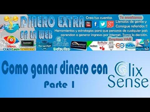 Como ganar dinero con ClixSense Parte 1   DINERO EXTRA EN LA WEB