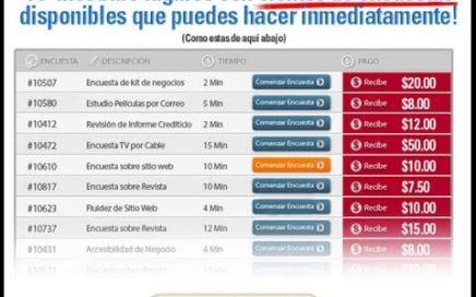 Como ganar dinero con encuesta en bolivia 2014