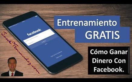 como ganar dinero con facebook 2017