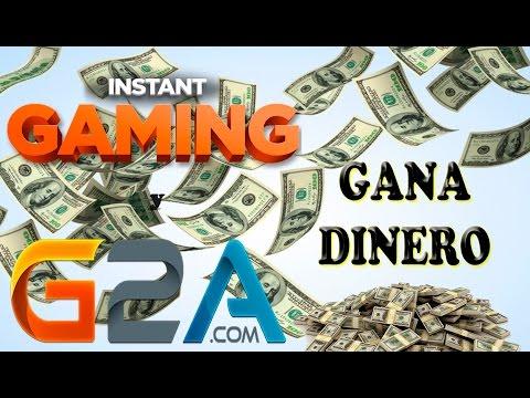 Como GANAR DINERO con G2A y Instant Gaming / Como ganar dinero por internet