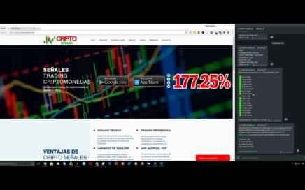 Como ganar dinero con trading de criptomonedas - NOV 12-19 / 2017 - 177.25%
