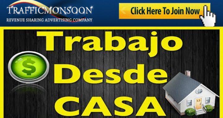 COMO GANAR DINERO CON TRAFFICMONSOON|TRABAJO DESDE CASA -NOGOCIO RENTABLE| DETALLADO