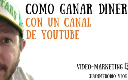 Cómo GANAR DINERO con tu canal de YOUTUBE (Programa de Amazon para Influencers)