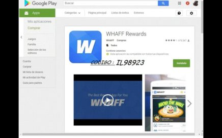 como ganar dinero con whaff gratis