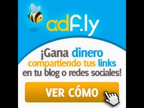 como ganar dinero desde  casa , registrarce en adfly muy facil funciona realmente