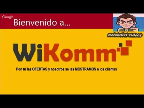 COMO GANAR DINERO EXTRA CON WIKOMM NEGOCIO SERIO DE GANANCIAS COMPARTIDAS