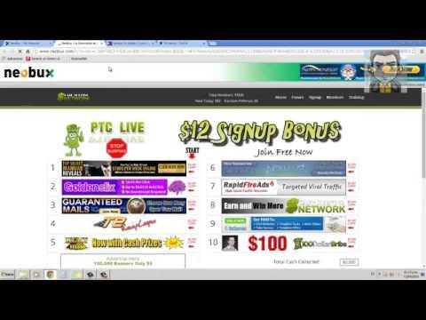 Como ganar dinero extra Neobux $50 dolares  subscribete en el link