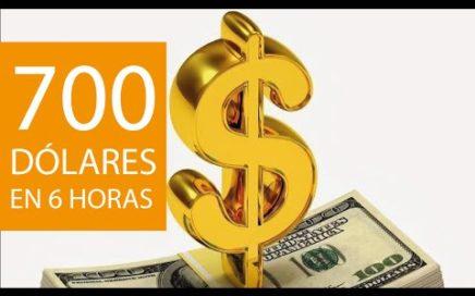 COMO GANAR DINERO FACIL, 700 DOLARES EN 6 HORAS | REAL!!