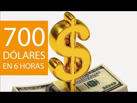 COMO GANAR DINERO FACIL, 700 DOLARES EN 6 HORAS   REAL!!