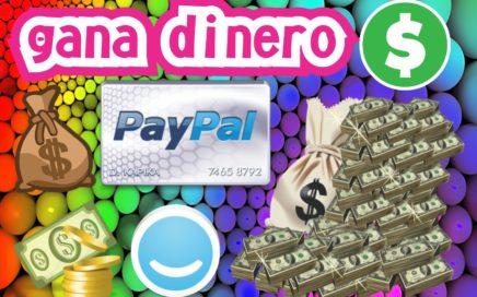 Como ganar dinero facil por internet 2016   PayPal   ANDROID   PC  