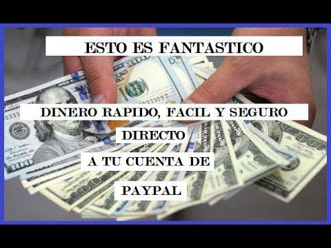 COMO GANAR DINERO FACIL, RAPIDO Y SEGURO DIRECTO A  PAYPAL