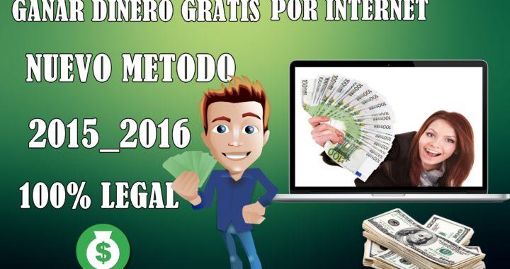 Como Ganar Dinero Gratis Para Paypal [2016] | NUEVO METODO | HASTA $.50 DIARIOS | Funciona 100%