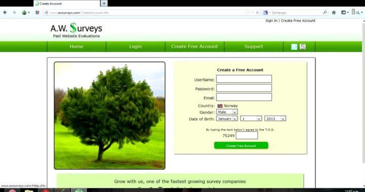como ganar dinero para paypal + truco A.W Surveys