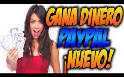 Como Ganar Dinero Paypal Rapido | SIN HACER NADA