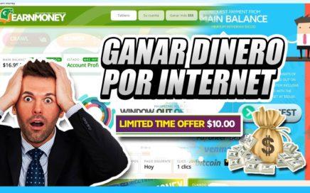 COMO GANAR DINERO POR INTERNET 2017 FIABLE | Earn Money Network $50.00 Dólares gratis
