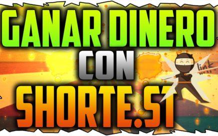 ¿COMO GANAR DINERO POR INTERNET FÁCIL CON SHORTE.ST? #2017 #ELMEJORACORTADOR