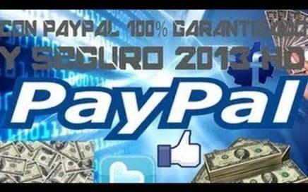 Como Ganar Dinero por internet (PayPal) Funciona 2014 HD Parte 1