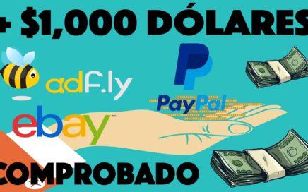 Como Ganar Dinero Por Internet Rápido y Seguro   Más de $1000 Dólares en PayPal