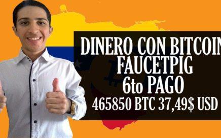 Como Ganar Dinero Rápido 6to PAGO [37,49$ USD 465850 BTC] Venezuela y Cualquier País