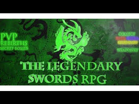 Como ganar Dinero Rapido en The Legendary Swords RPG Roblox