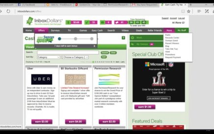 Como ganar dinero rapido por internet(inboxdollar)