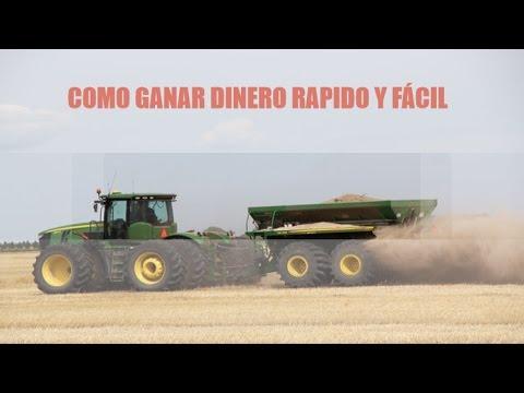 COMO GANAR DINERO RAPIDO Y FÁCIL Farming simulator 17